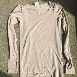 Tan Bamboo Long Sleeve T-shirt from Cest Moi